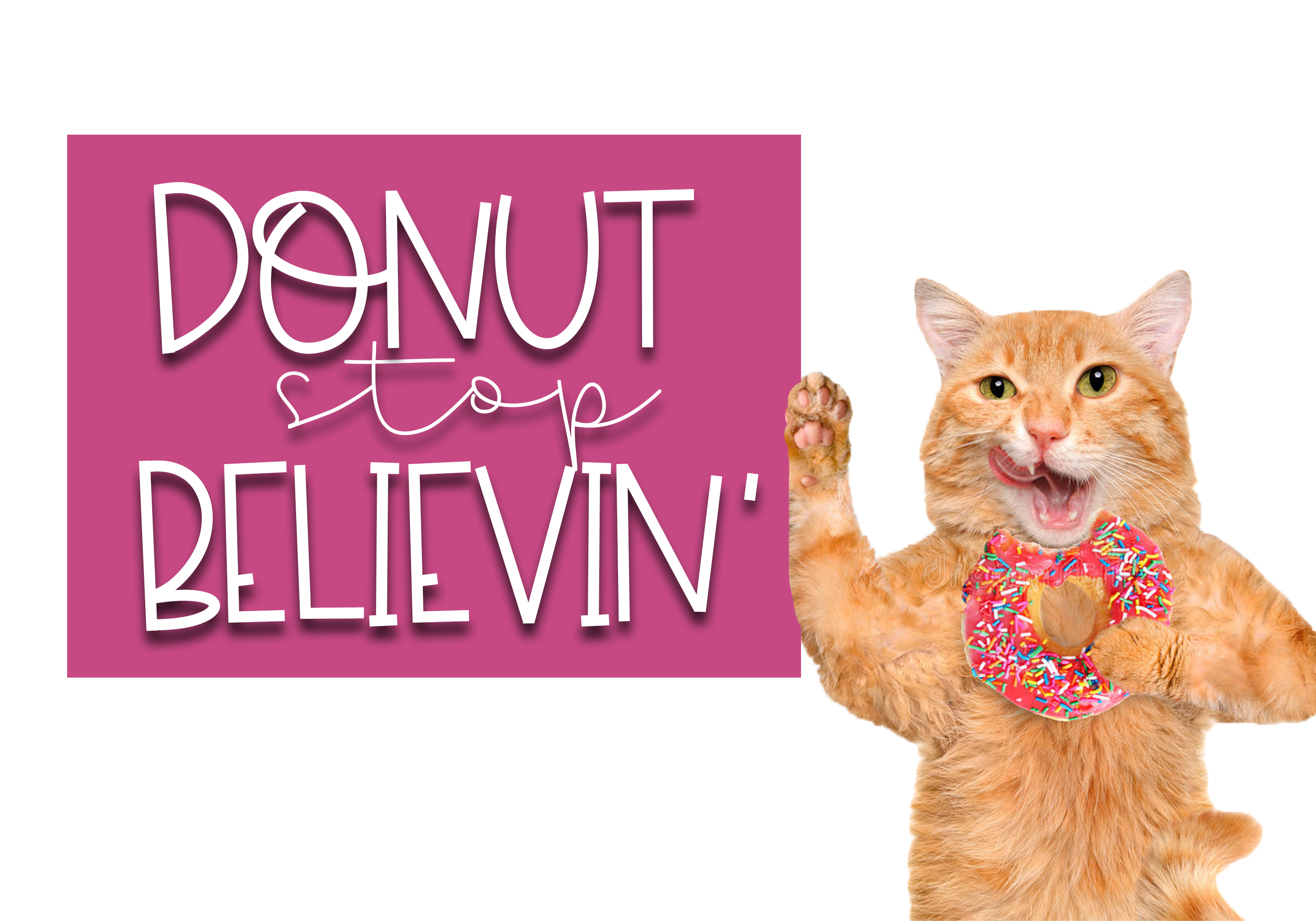 Sprinkled Donut - A Handwritten Font example image 6