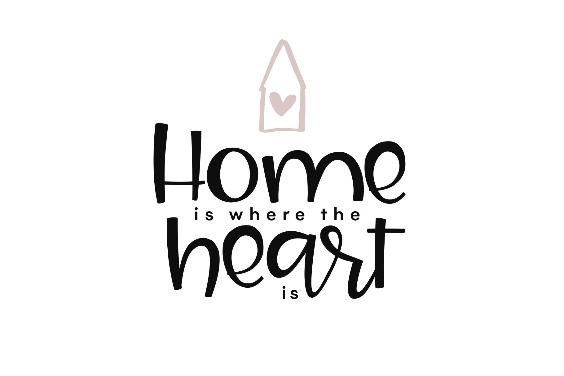 Joy & Hugs Handwritten Script Font - with doodle extras! example image 14