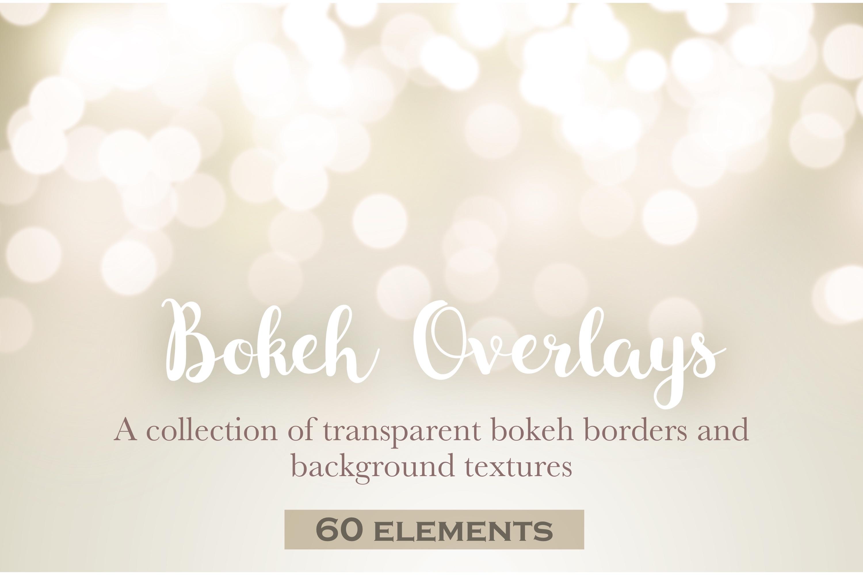 Bokeh border overlays example image 1