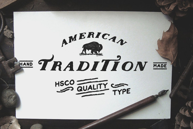 Nations - Hand Drawn Font example image 3