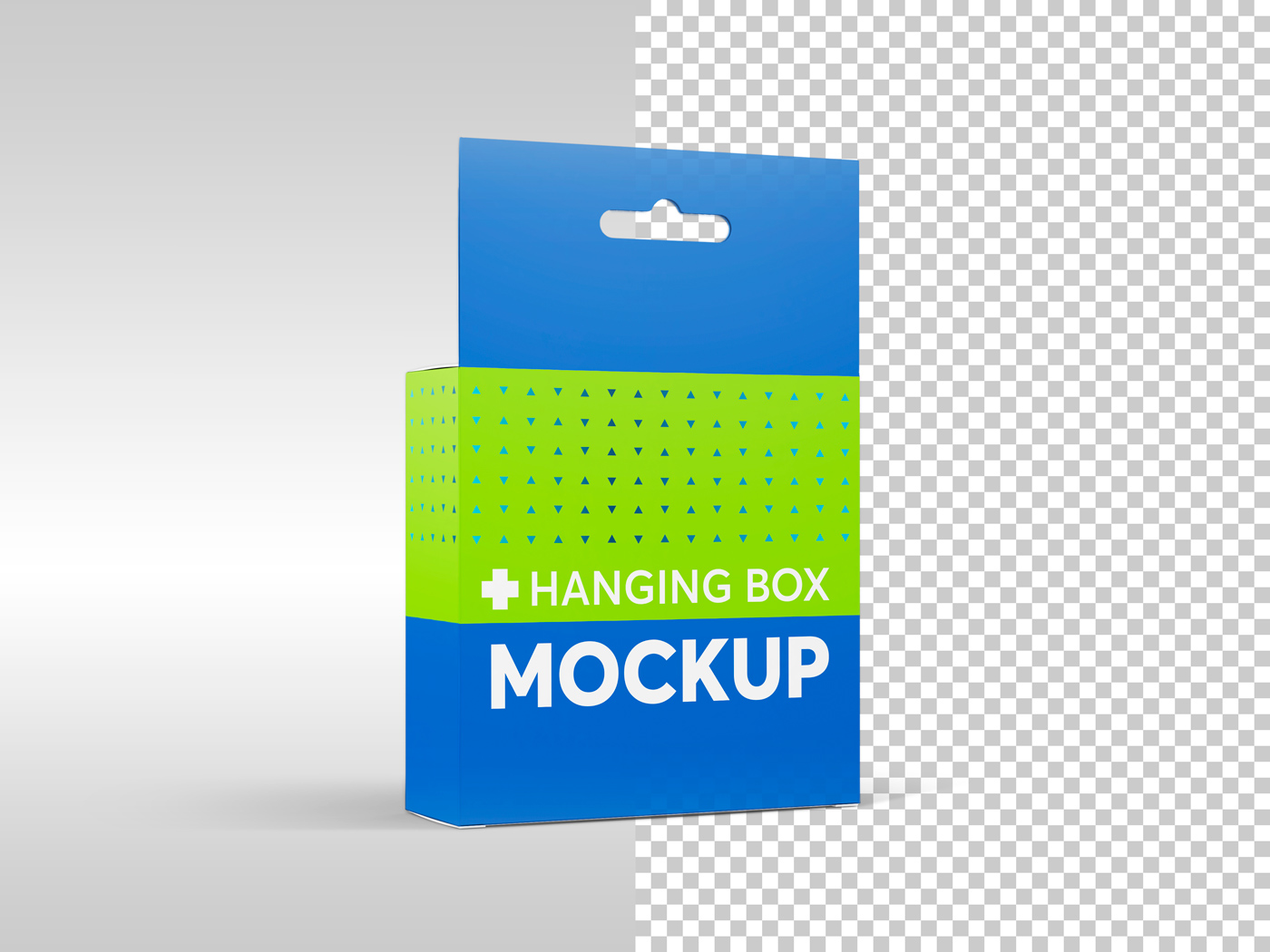 Flat Square Box with Hanger Mockup example image 19