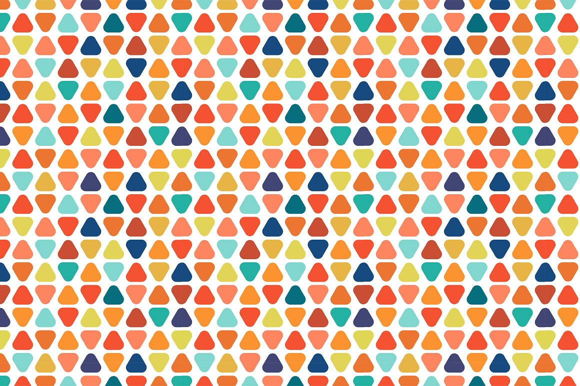 Colorful seamless patterns. example image 18