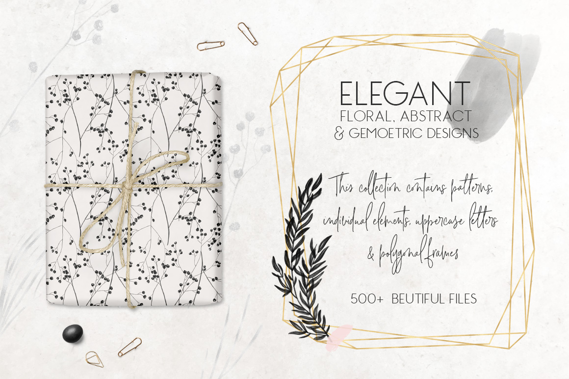 Charcoal, Gold & Blush Collection example image 2
