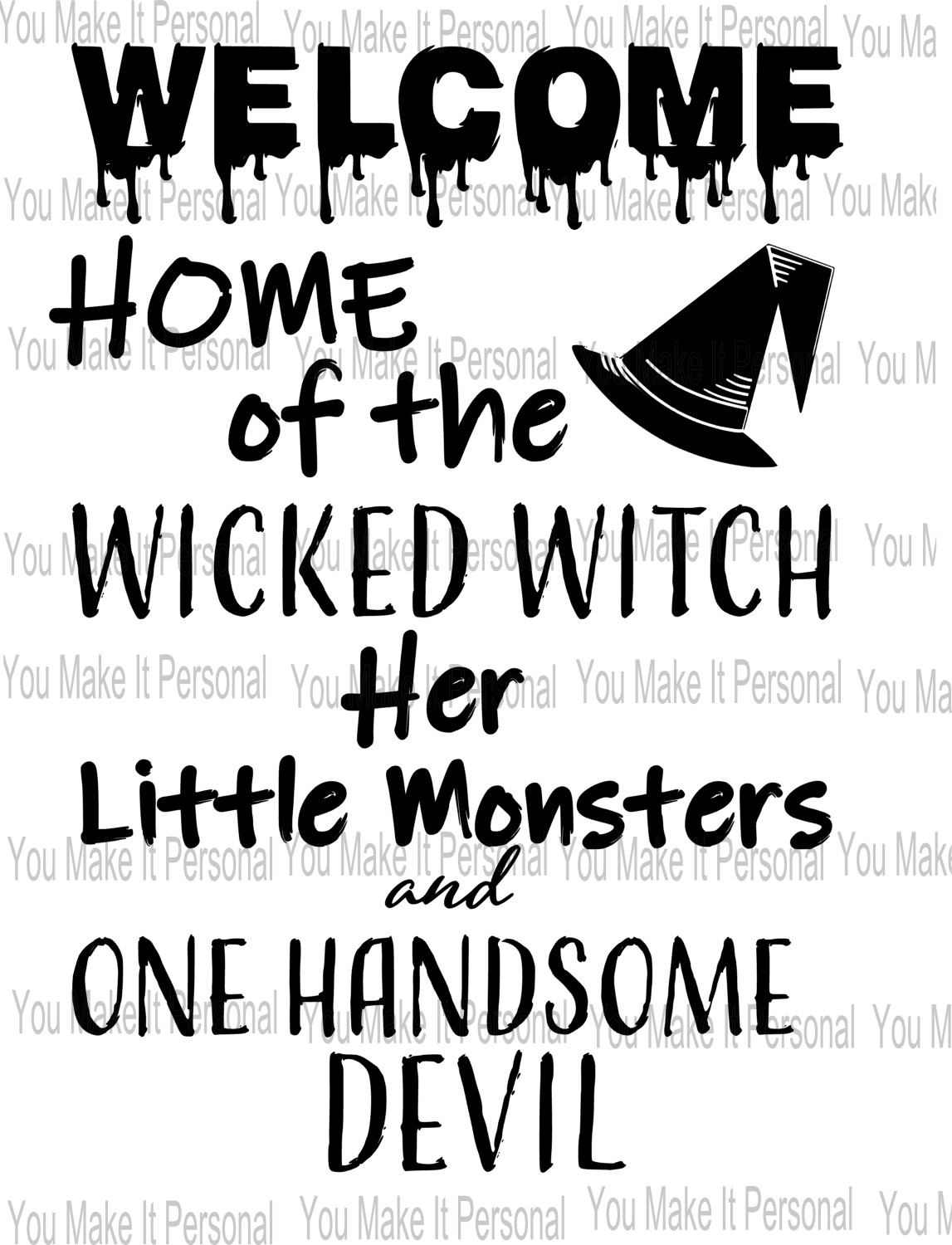 Home Of The Wicked Witch Sign and SVG example image 3