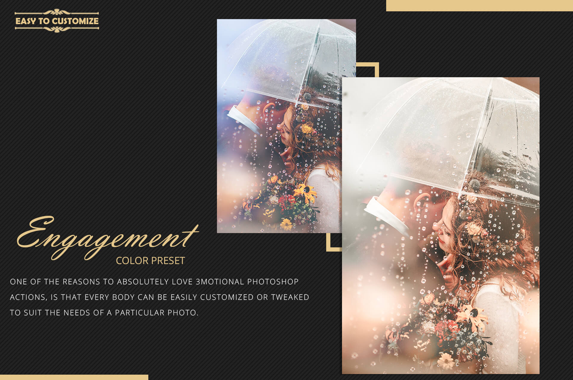 Engagement Color Grading Photoshop actions Filter example image 8