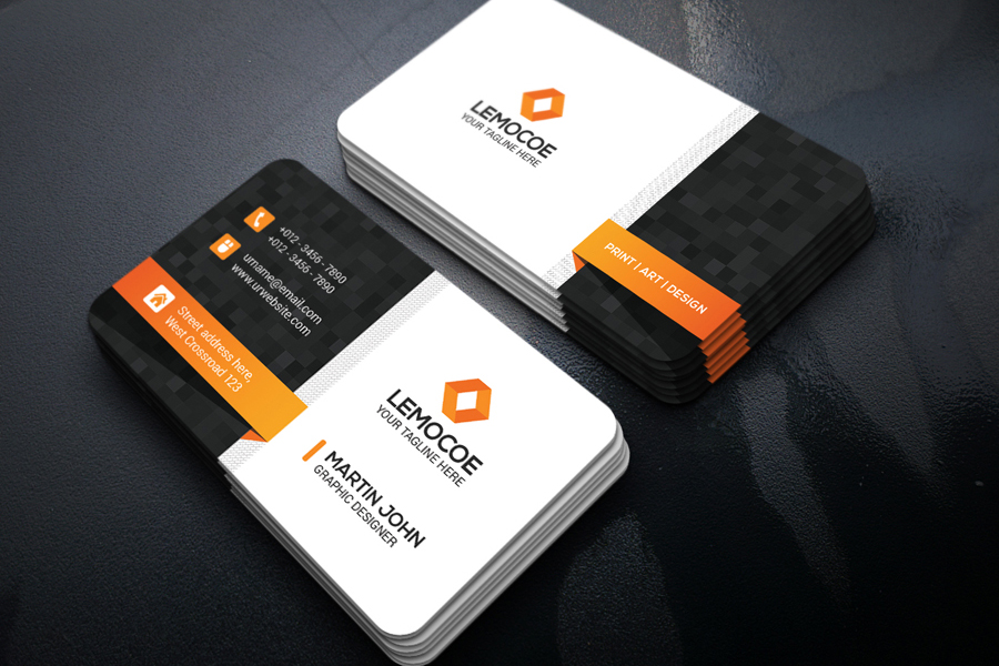 Business Card Design example image 4