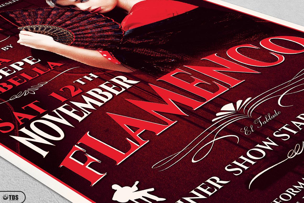 Flamenco Flyer Template V2 example image 5
