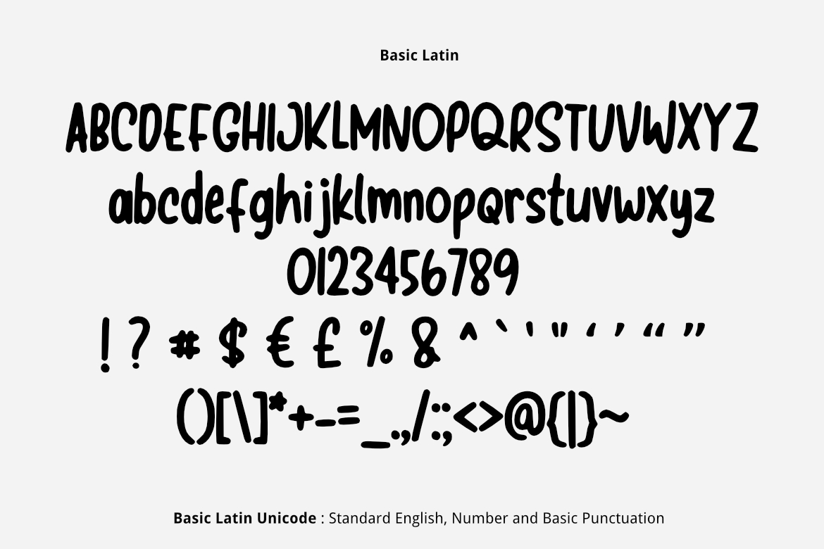 Simple Marker Font example image 2