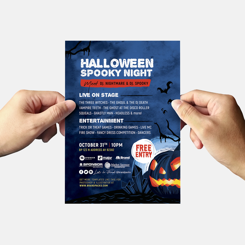 Halloween Flyer Templates example image 9