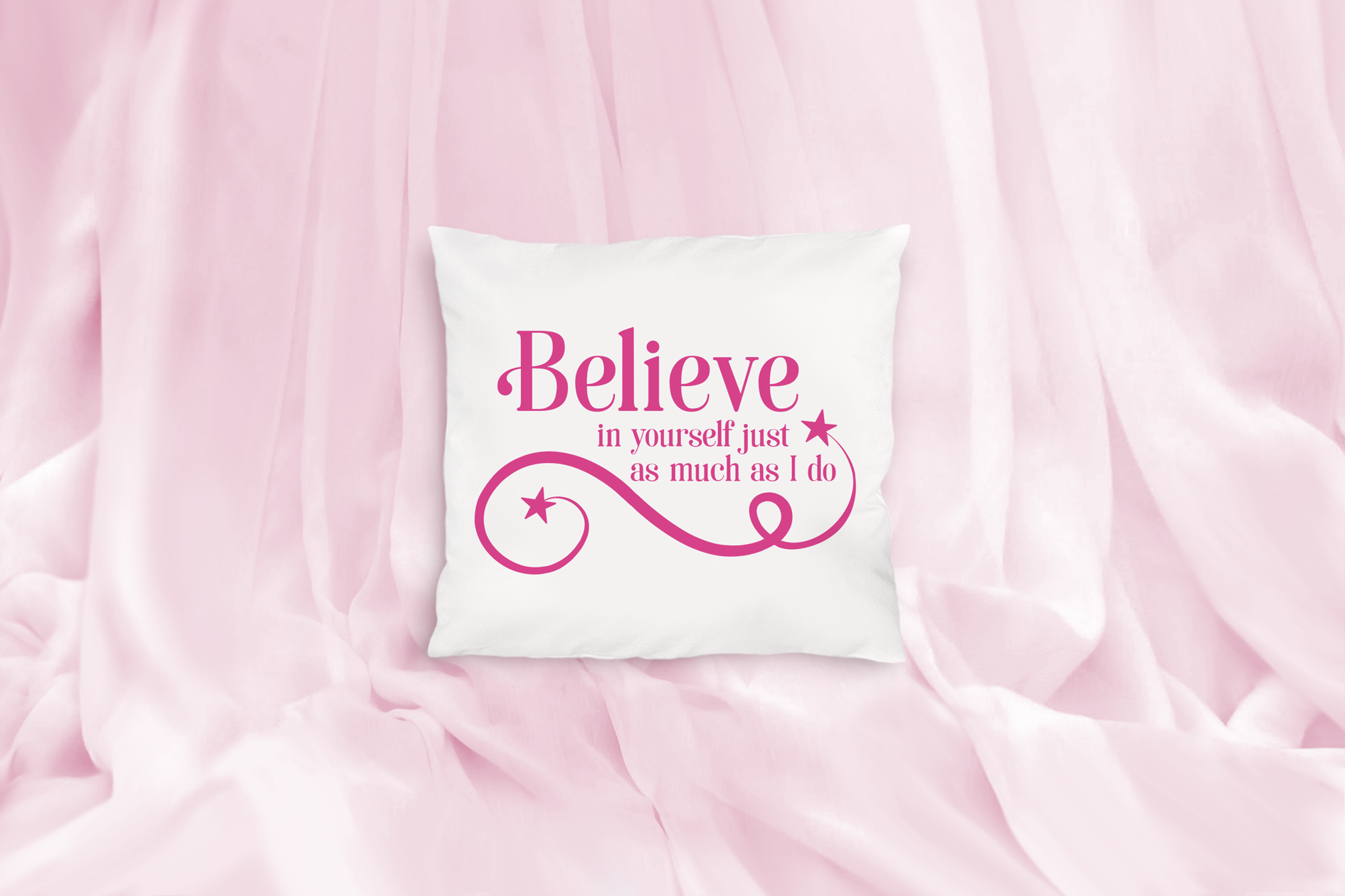 Believe in Yourself as Much as I Do, An Inspirational SVG example image 3