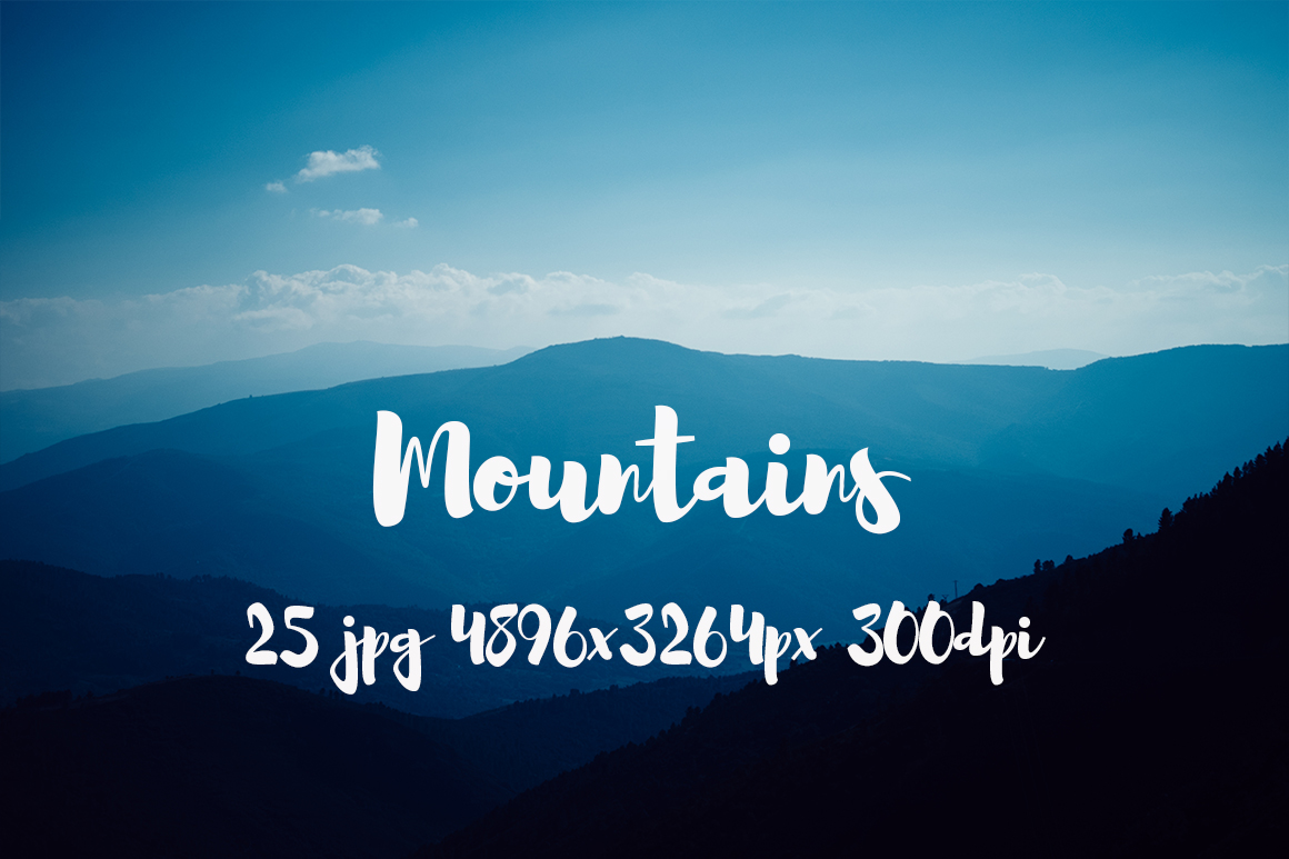 Mountains Pack example image 2