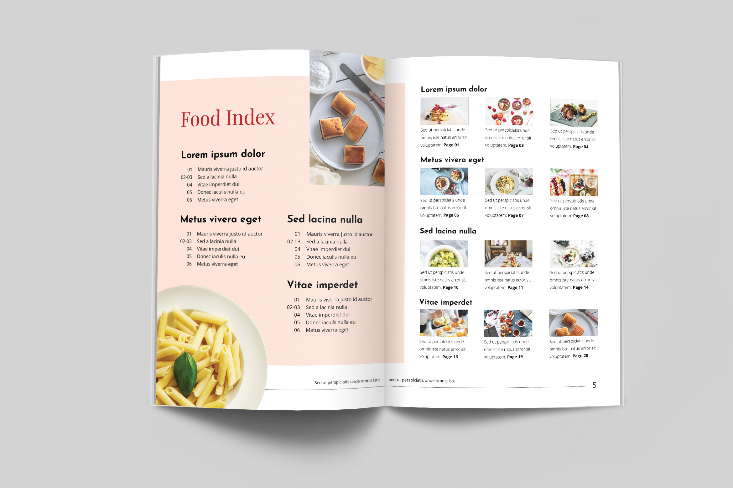 Nutrient - Food Catalogue Template example image 3