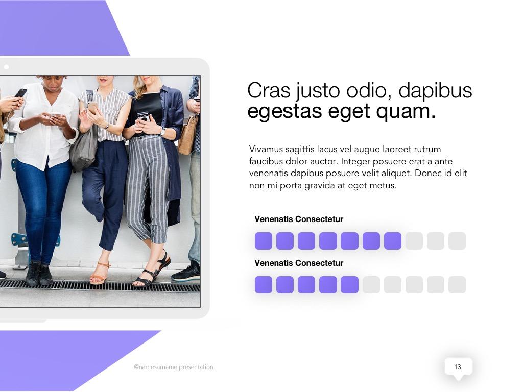 Influencer Marketing Google Slides Template example image 14