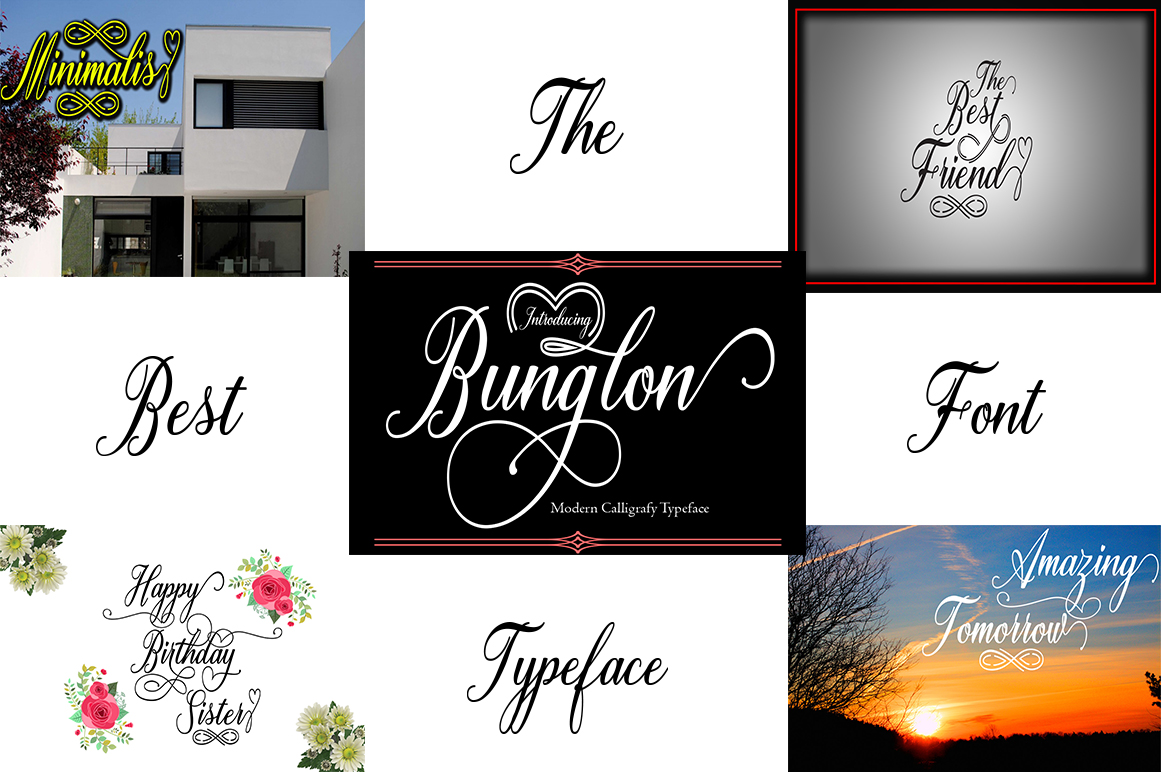 New Update Big Bundle nice collection of font script example image 4