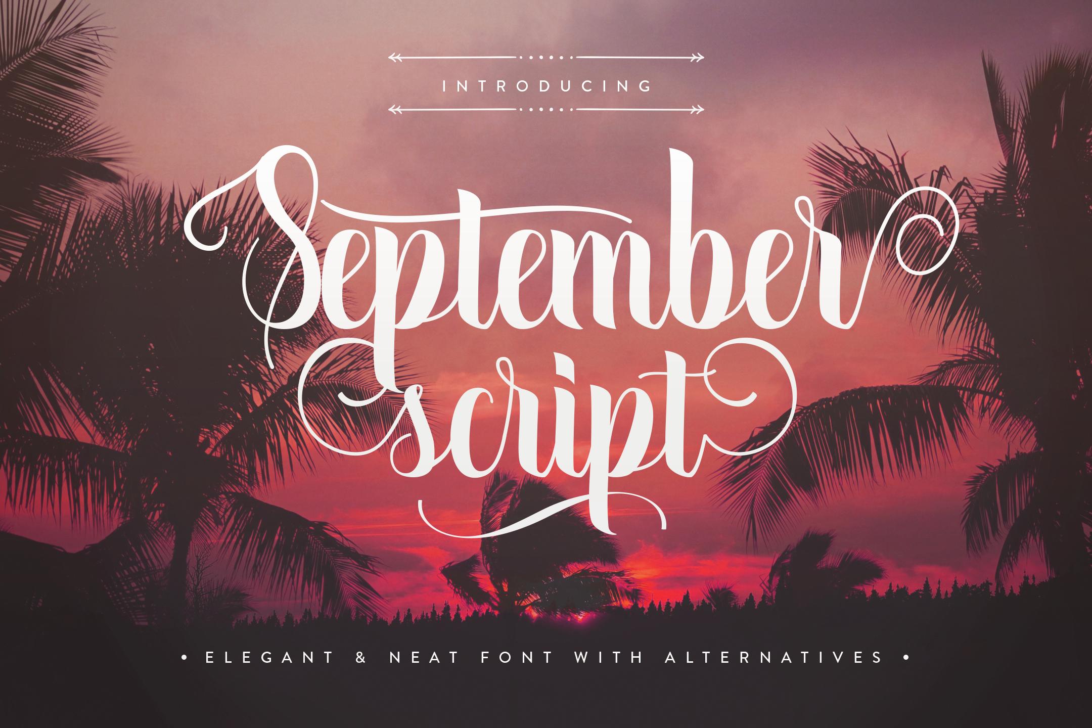 September Script example 1