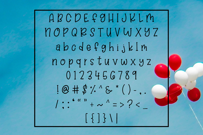 Balloon Bash - Playful Serif Handwritten Font example image 2