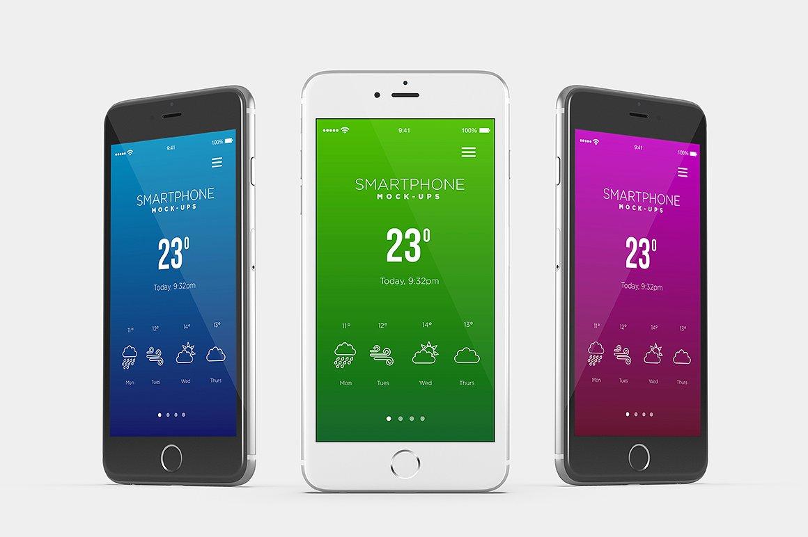 Smartphone Mock-Ups example image 5
