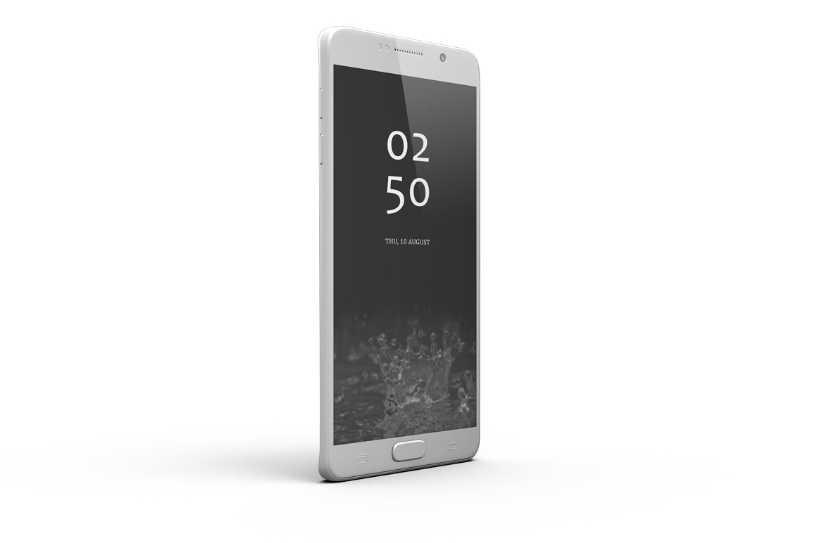 Samsung Galaxy Note 5 Mock-up example image 5