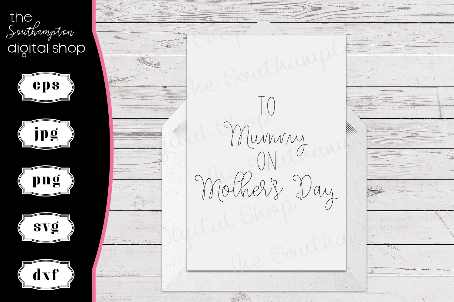 To Mummy Mother's Day Foil Quil Card Design example image 1