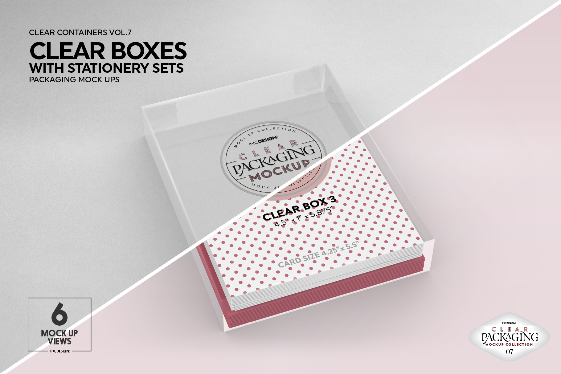VOL.7 Clear Packaging Mockup Collection example image 20