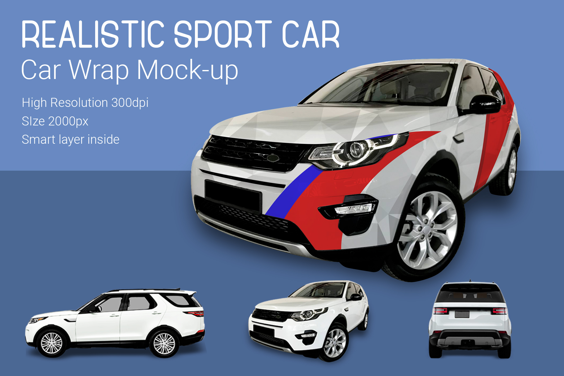 Sport Car Mock-Up example image 2