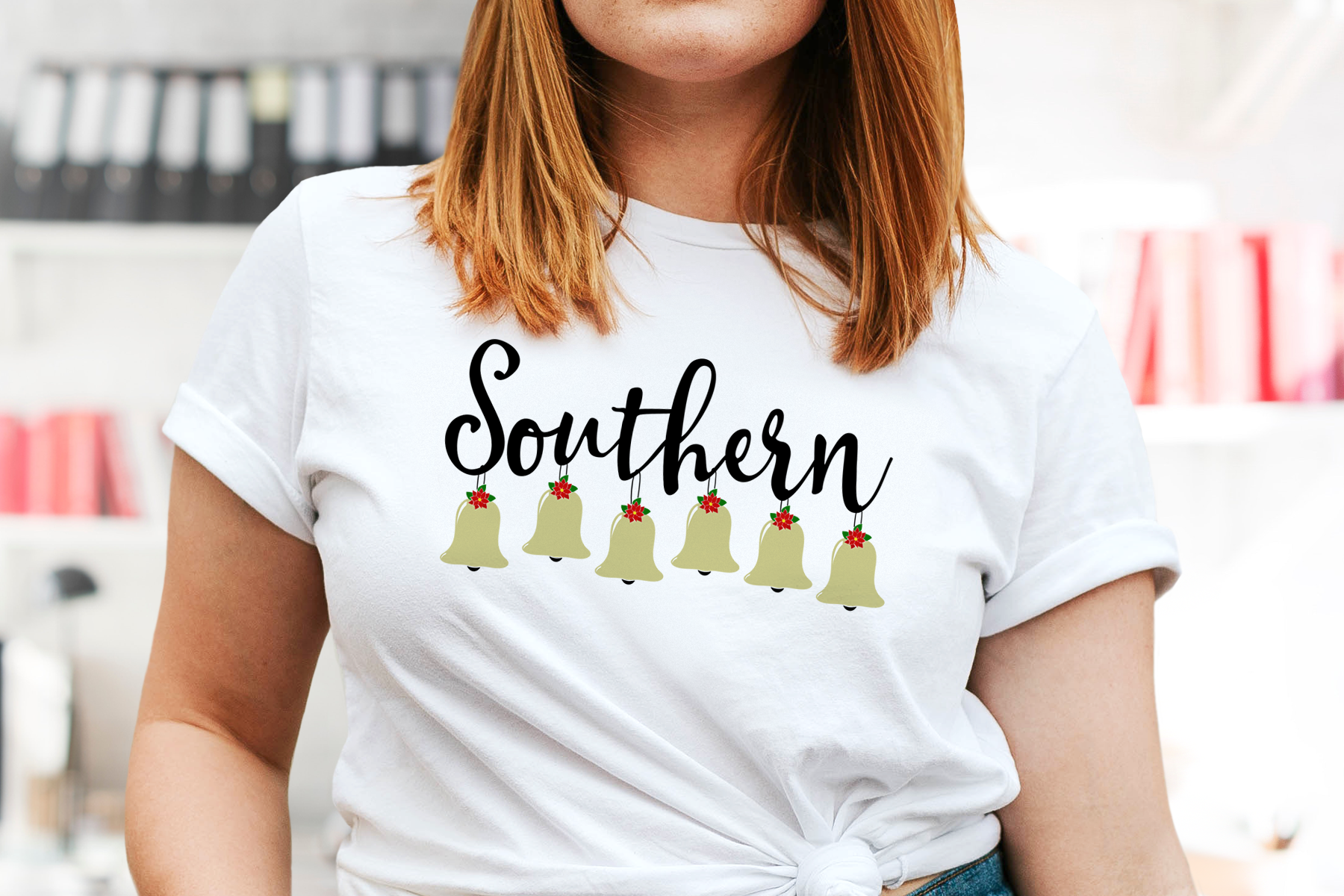 Southern Belles Christmas Style! Bridal Friends Cut / Print example image 2