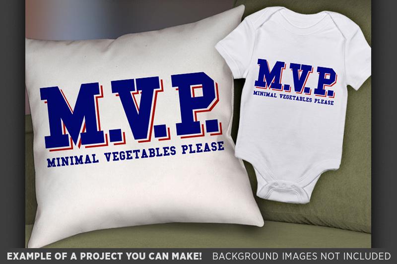 MVP Shirt SVG - MVP Minimal Vegetables Please Svg - 1026 example image 2