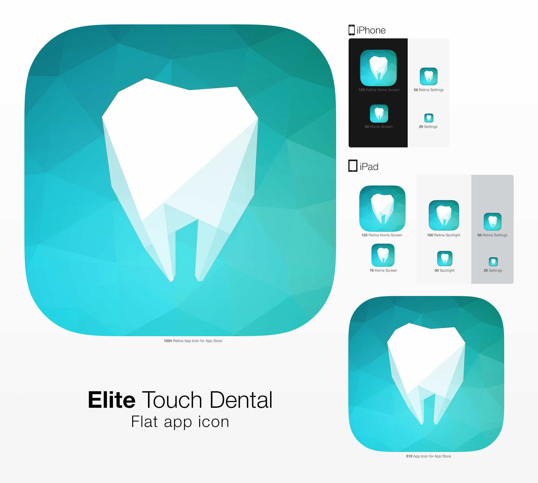 Elite Touch Dental UI Graphic Assets example image 20