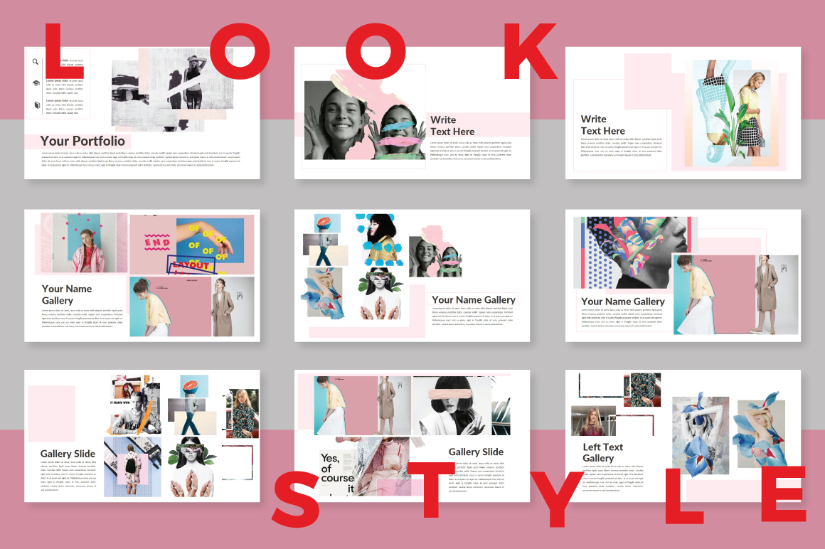 LookStyle Keynote Template example image 3