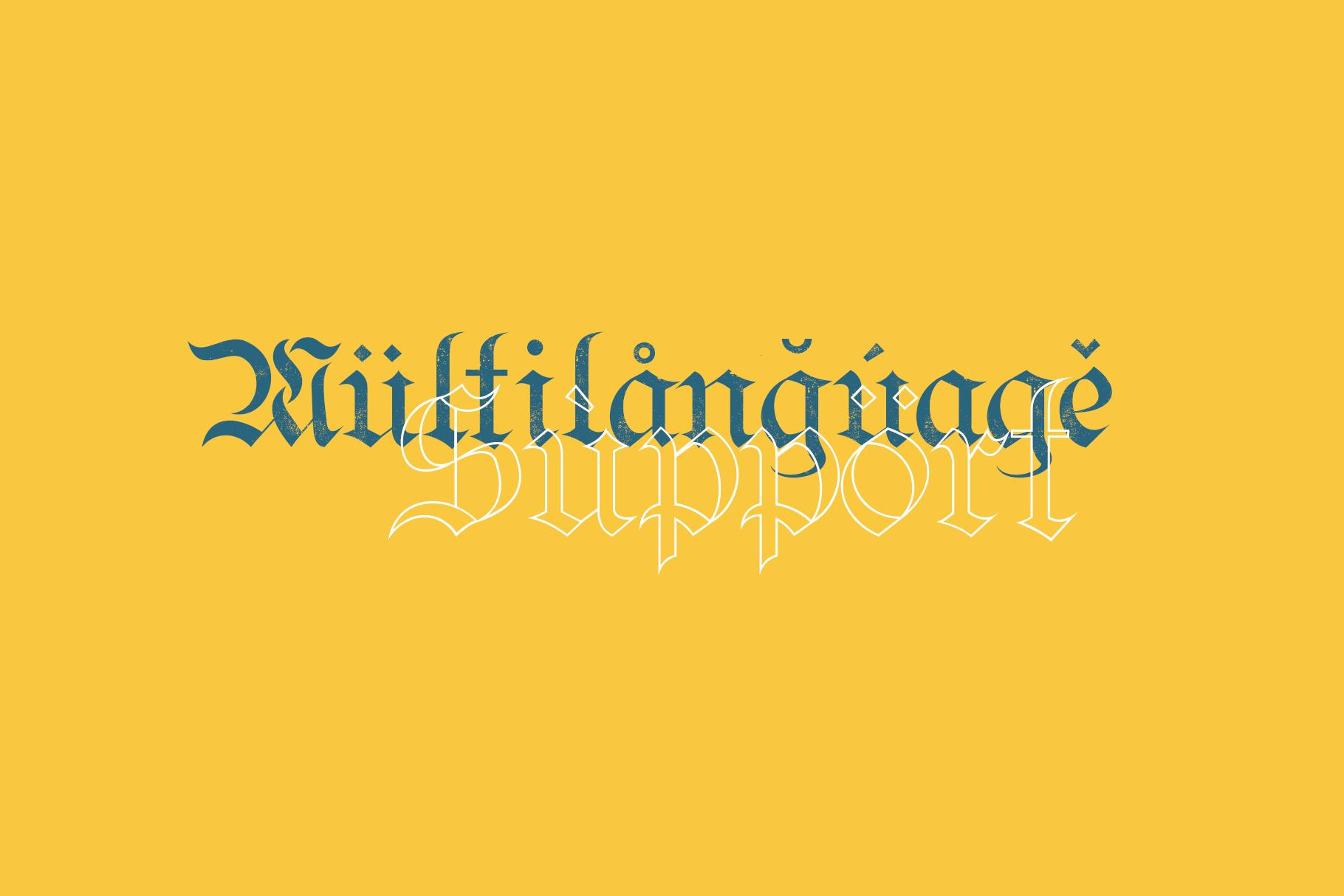Bielefeld Typeface font example image 9