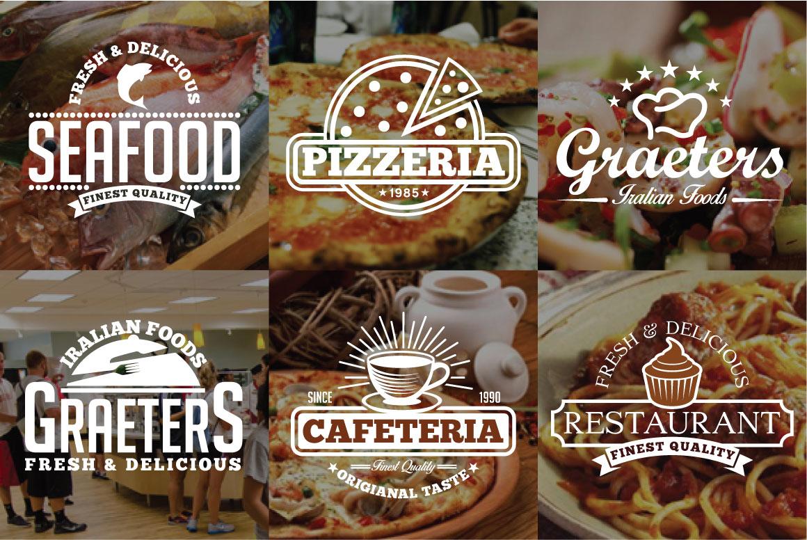 60 Vintage Bundle Logos Labels & Badges example image 6