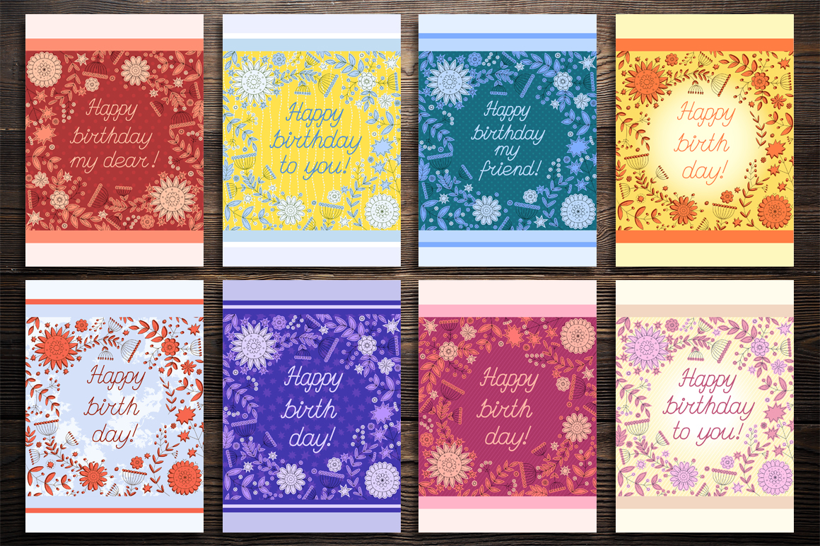 Birthday cards collection example image 8