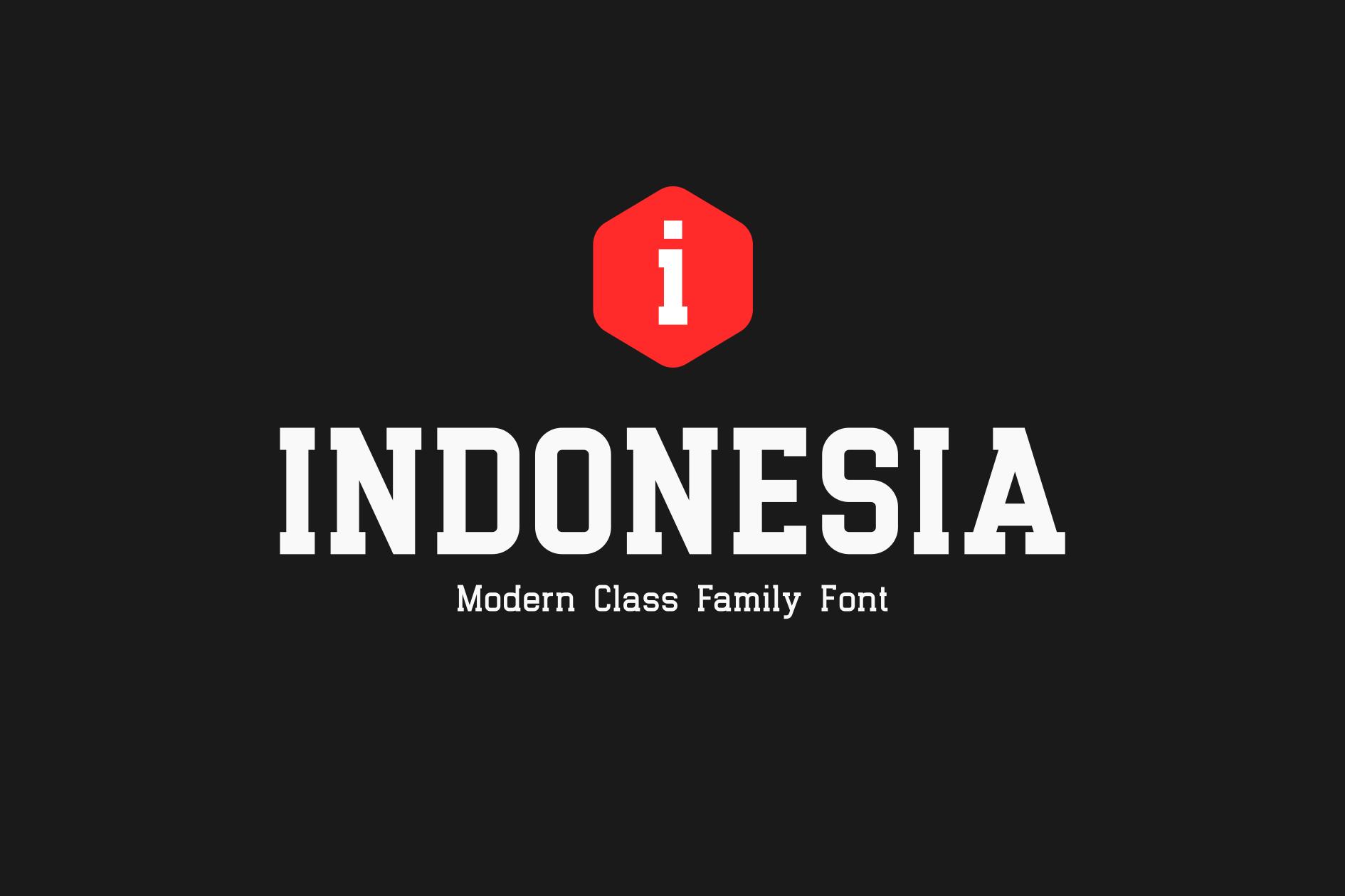 Indonesia Family | Premium Font! example image 1