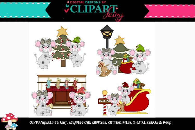 Christmas Mice 2 example image 1