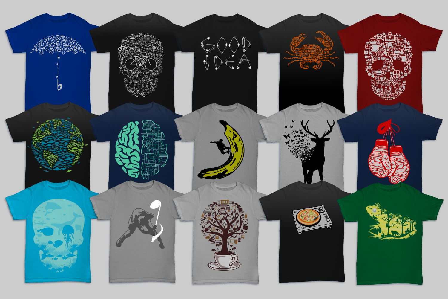 Tshirt Designs Mega Bundle Pack 2 example image 2
