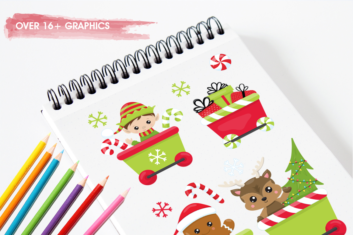 Santa's Helper graphic and illustrations example image 3