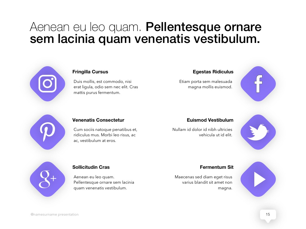Influencer Marketing PowerPoint Template example image 16