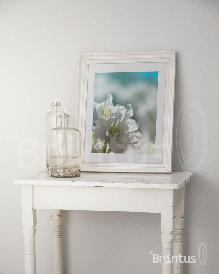 Frame mockup - clean bright interior oil lamp example image 7