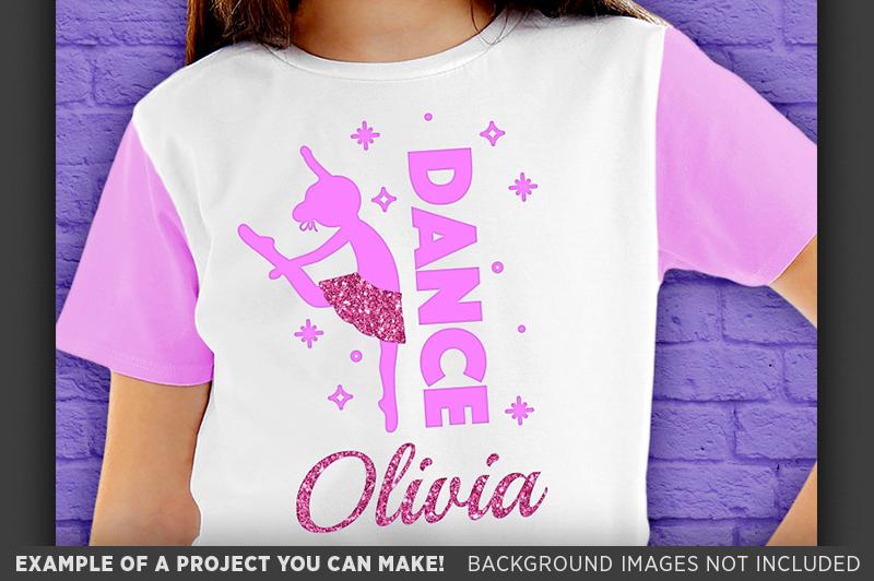 Dance Shirt Svg File - Dance Svg - Dance Mom Svg - 1054 example image 3