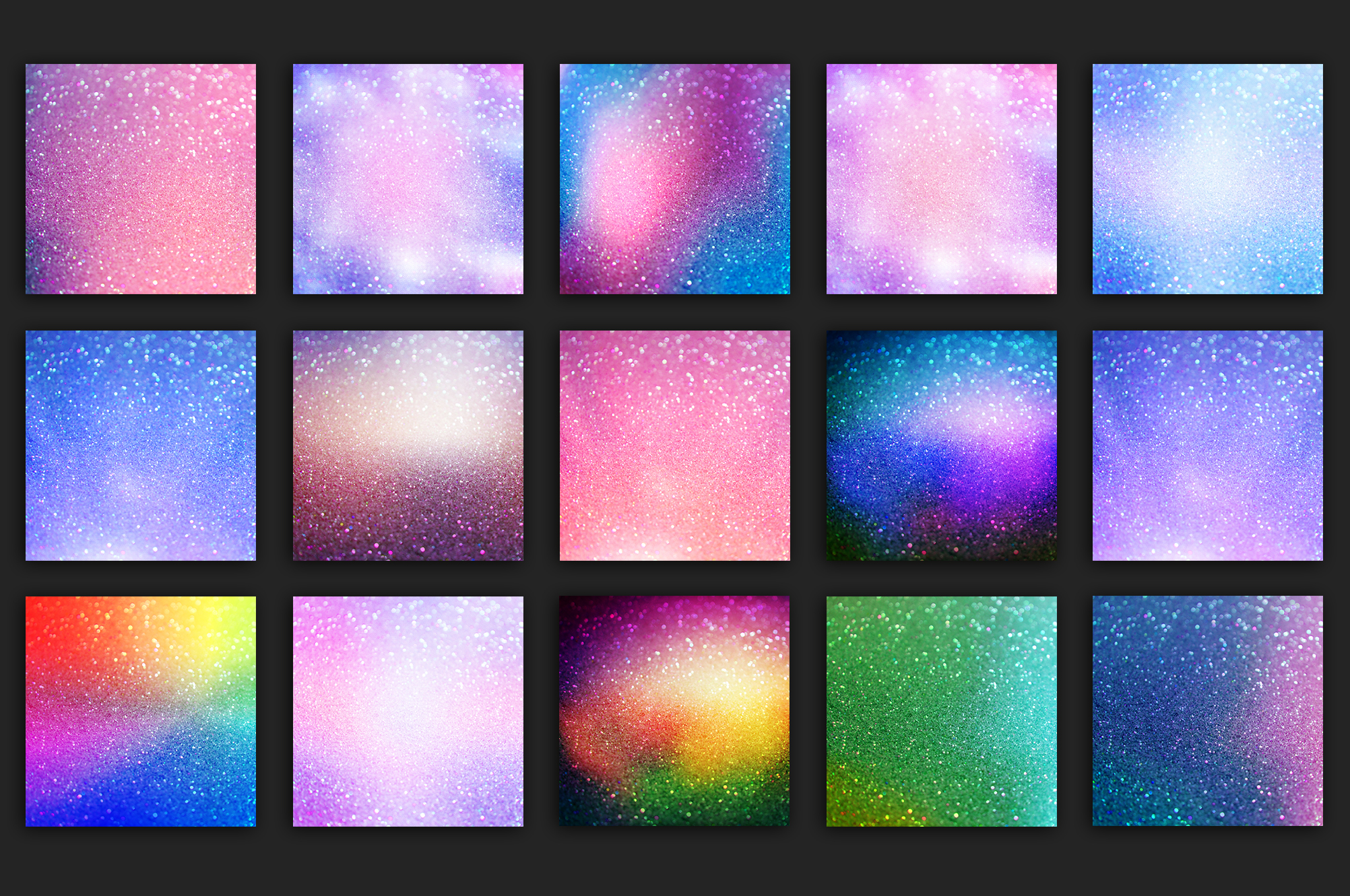 Gold Marble and Iridescent Glitter Textures BUNDLE example image 15