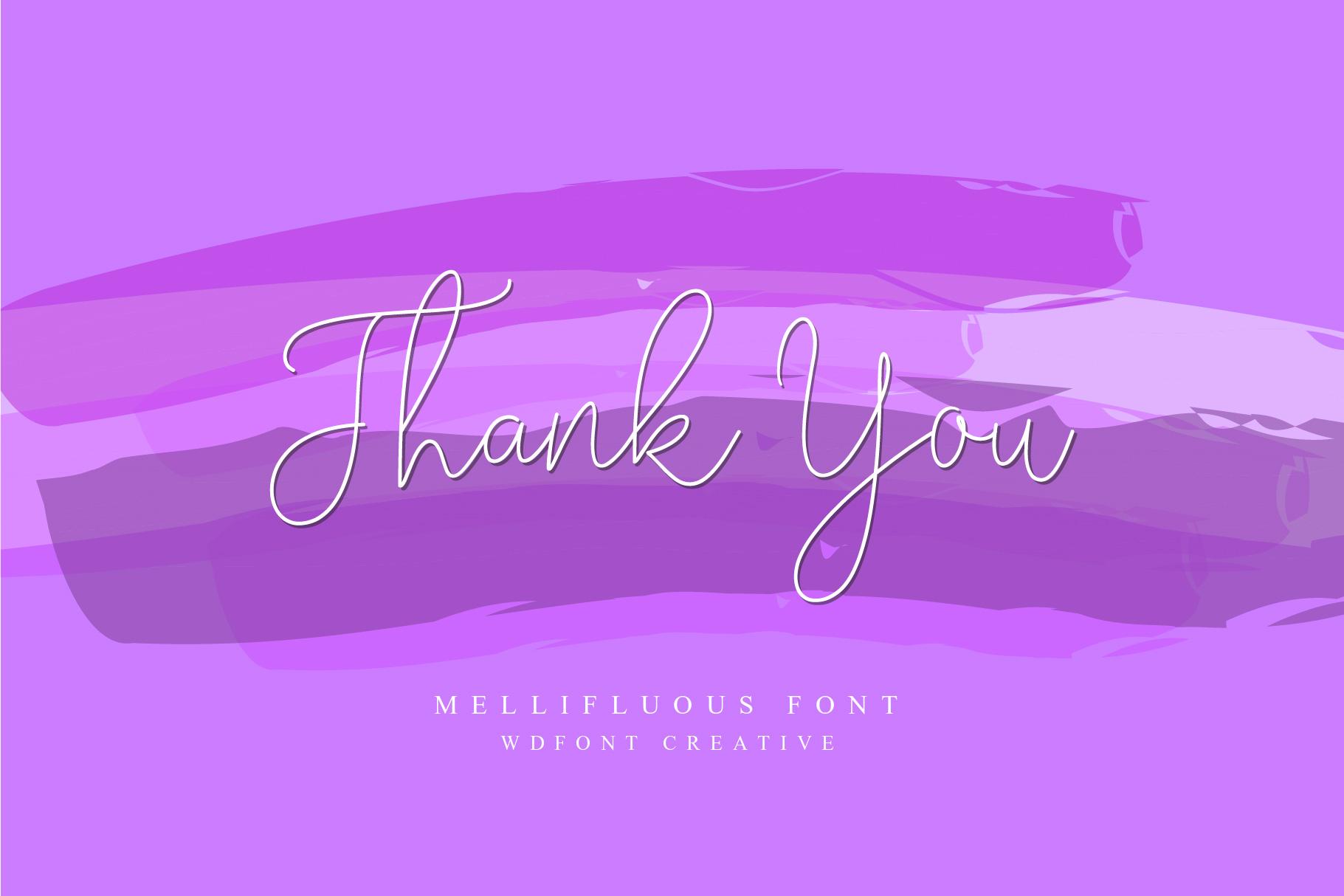 Mellifluous | Script Fonts example image 6