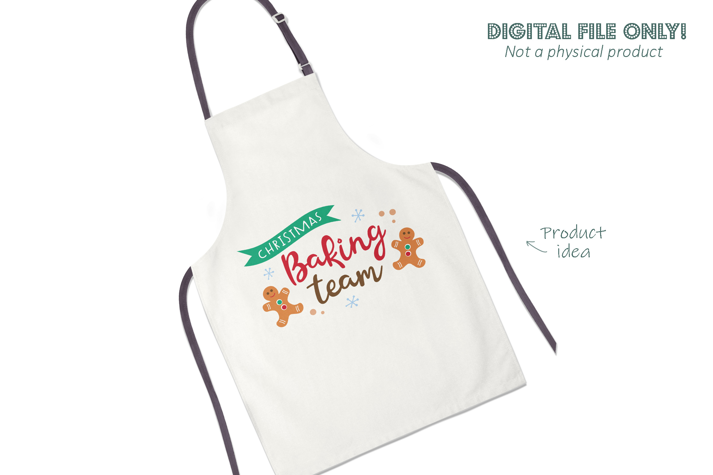 Christmas baking team SVG file example image 2