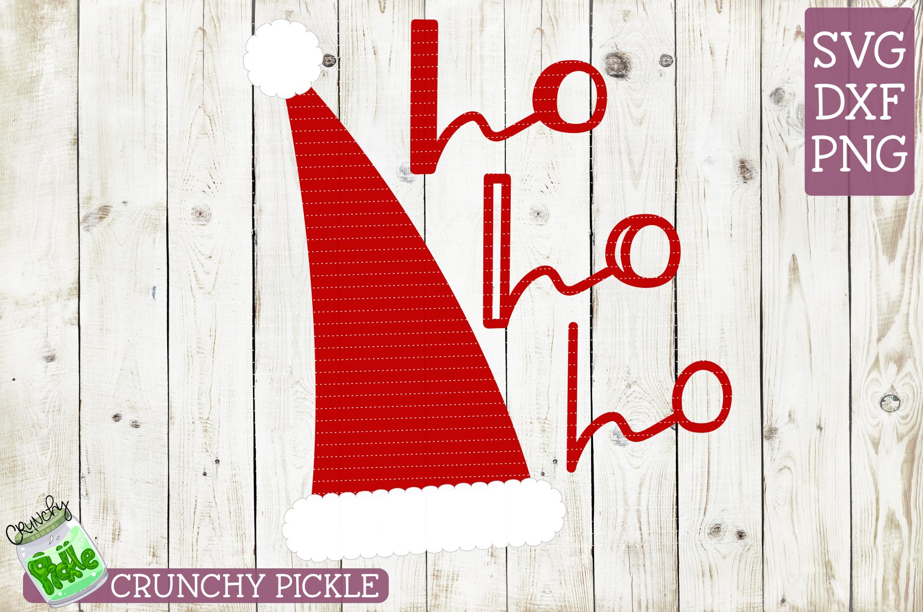Santa Claus Hat Christmas SVG example image 2