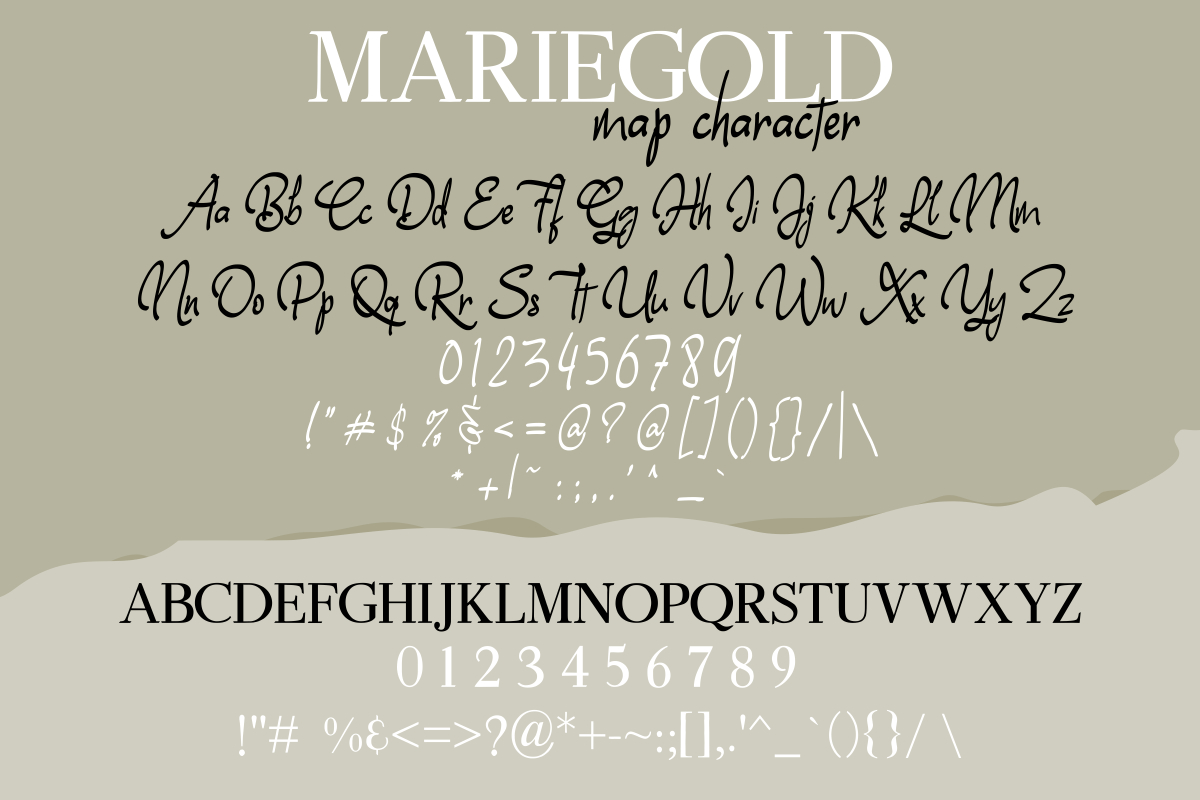Mariegold Luxury Font Duo example image 11
