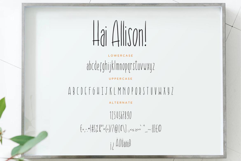 Hai Allison Fun Display example image 7