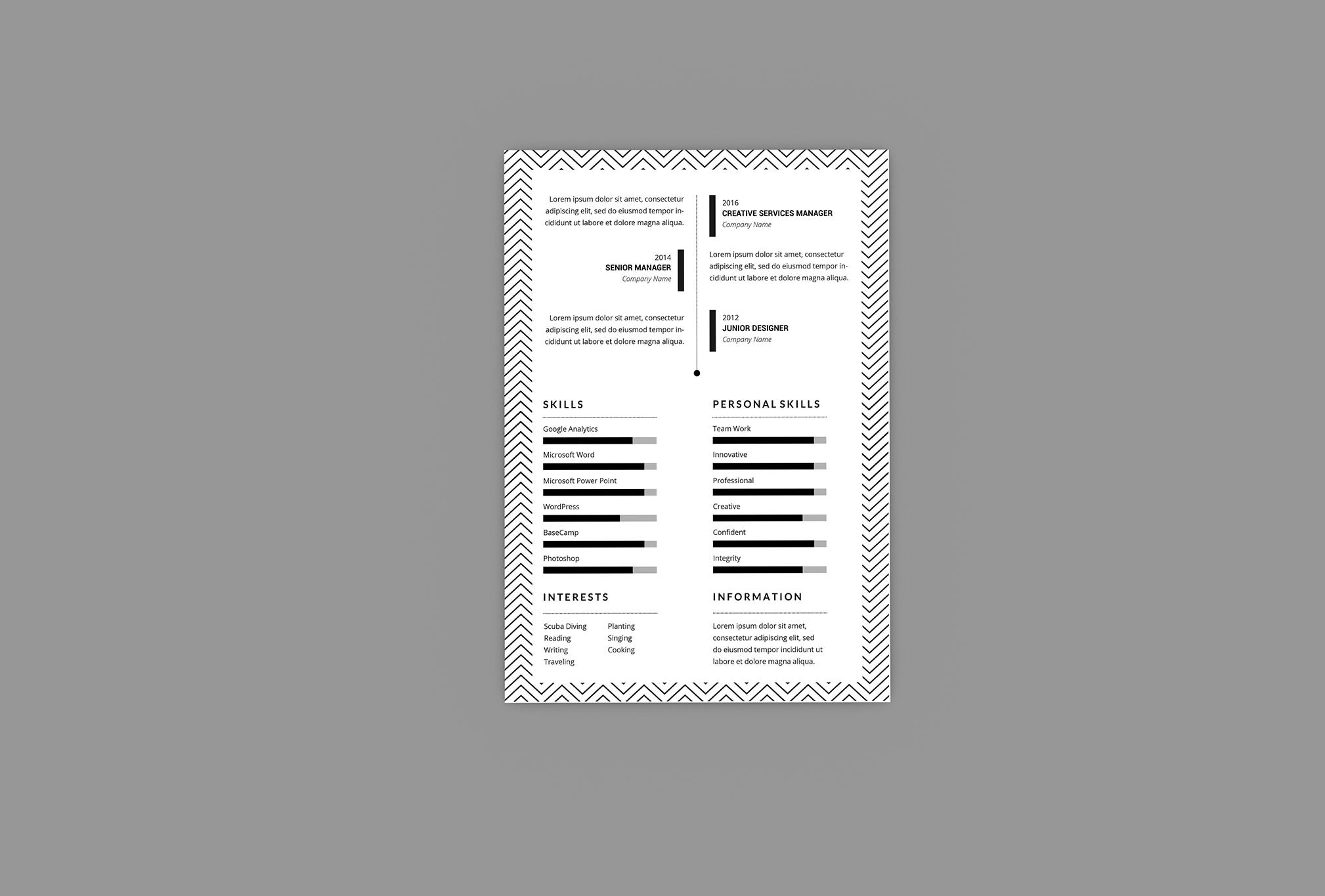 Carry Resume Designer example image 2