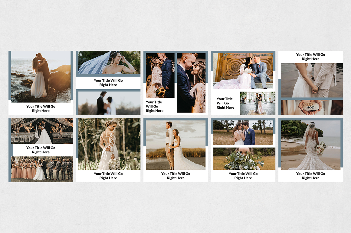 Wedding Instagram Posts example image 8