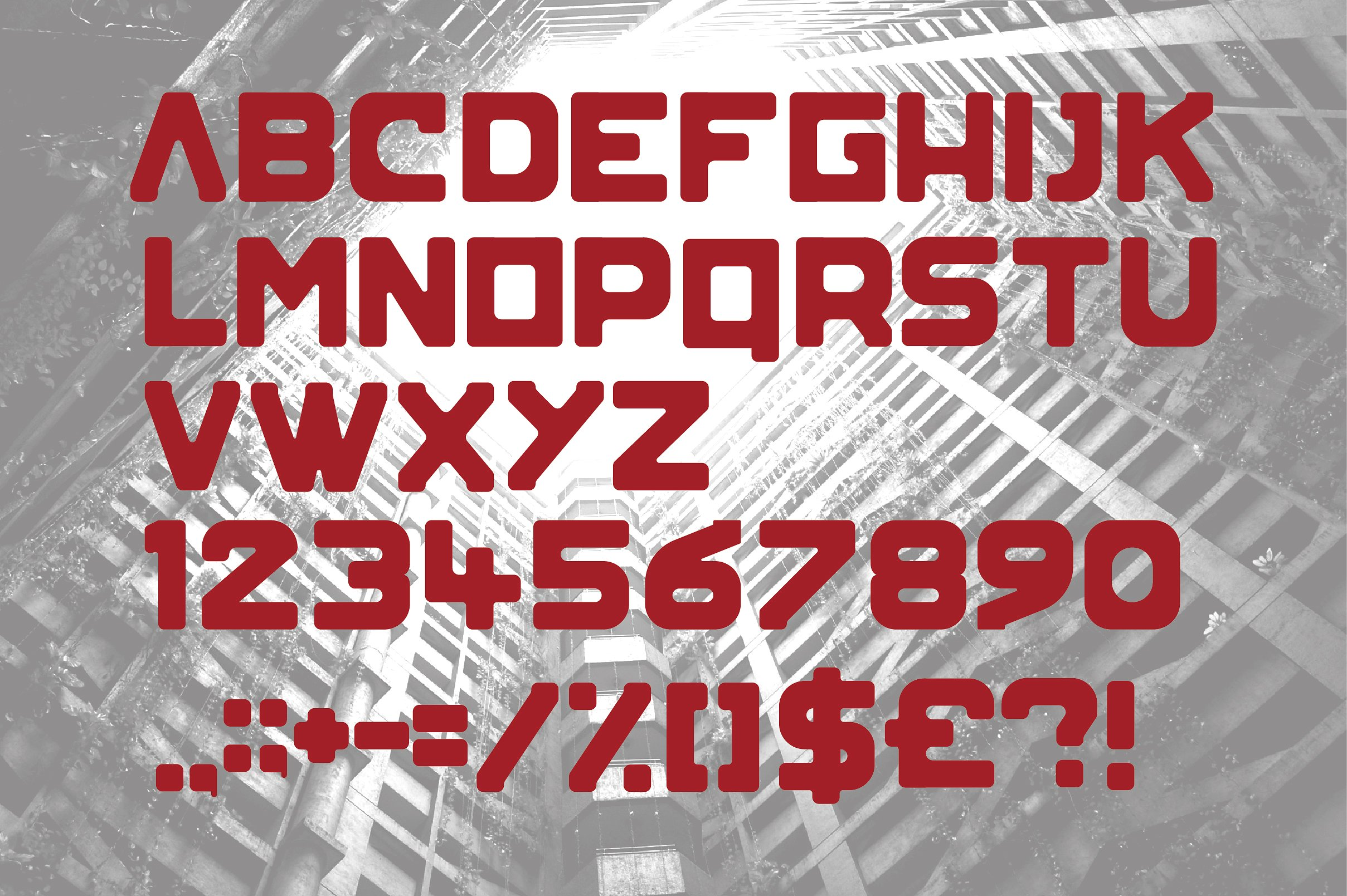 Blok Typeface example image 2