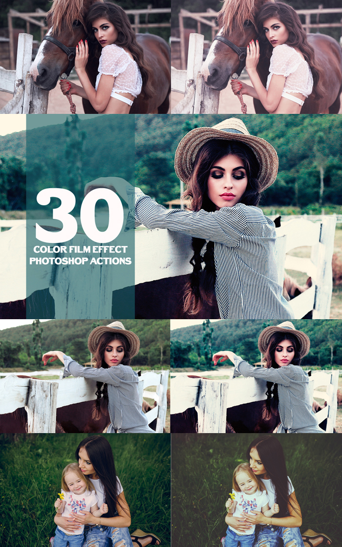 1850 Photoshop Actions example image 5