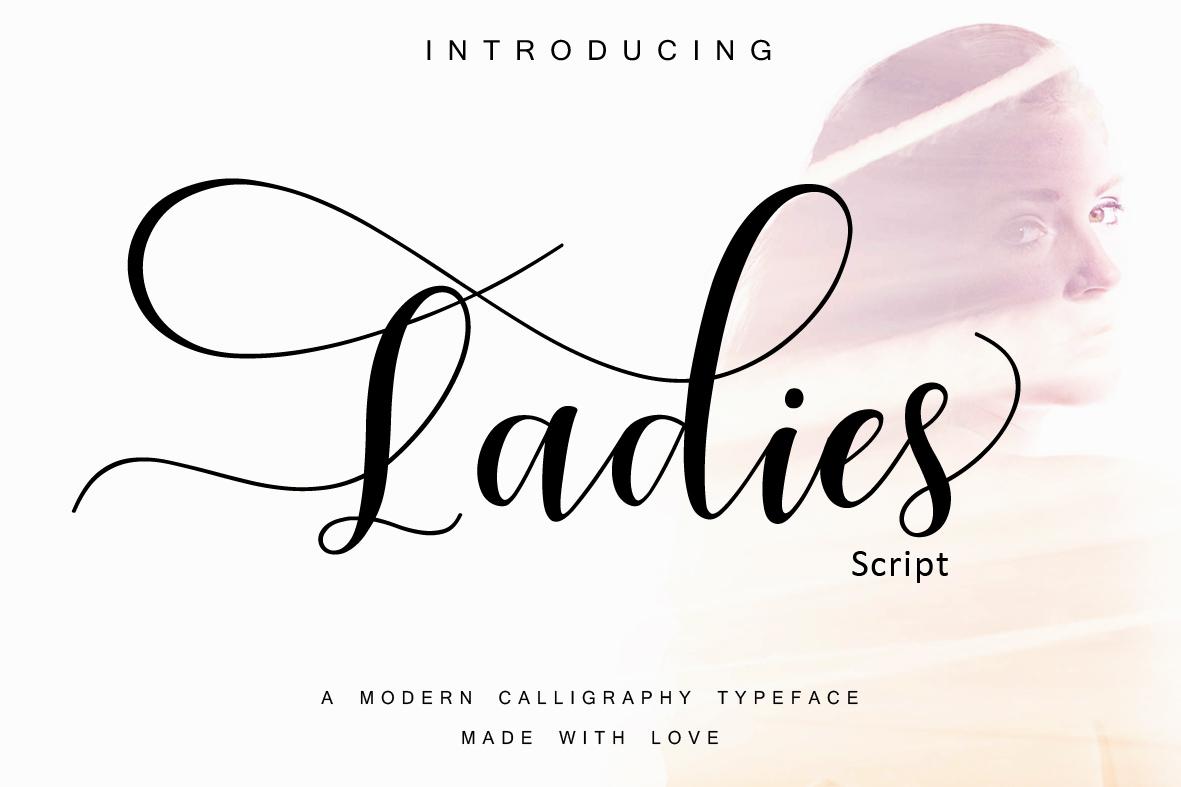 Ladies  script example image 8